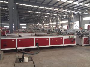 Jwell Machinery Shandong PE Wood Plastic Customer Site